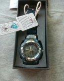 Спортивные, кварцевые водонепроницаемые часы. Фото 1.