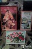 Продам картины- вышивки крестиком, ручная работа. Фото 2.