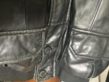 Куртка кожаная мужская 48размер. Фото 4.
