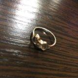 Серебрянные серьги с жемчугом +кольцо серебро. Фото 4.