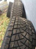 Bridgestone blizzak dm-z3. Фото 1.