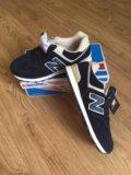 Кроссовки замшевые new balance. Фото 1.
