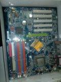 Процессор +материнская плата. Фото 1.