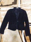 Пиджак велюровый. Фото 1.
