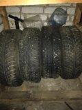 Зимние шипованные колеса 4 шт. Фото 3.