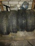 Зимние шипованные колеса 4 шт. Фото 2.