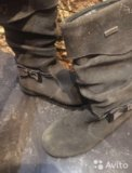Сапоги осенние. Фото 1.