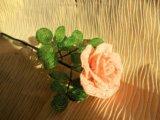 Цветы из бисера. Фото 4.