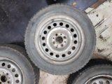 3 шипованных колеса на калину. Фото 1.