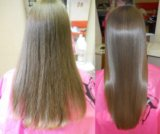 Кератиновое выпрямление волос. Фото 1.