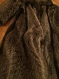 Шуба из енота. Фото 3.