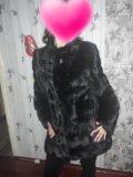 """Шуба норковая """"черный брилиант"""". Фото 3."""