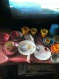 Набор игрушечная посуда ссср. Фото 1.