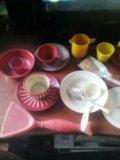 Набор игрушечная посуда ссср. Фото 4.