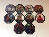 Продам 10 фишек из набора звёздные войны. Фото 1.