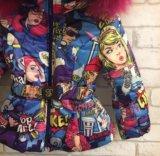 Куртка поп арт, от 80 до 122. Фото 2.