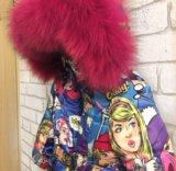 Куртка поп арт, от 80 до 122. Фото 3.