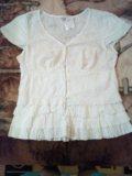 Блузка индия хлопок. Фото 1.