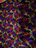 Ткань для шитья бархат цветной. Фото 3.