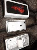 Iphone 6s + чехлы и стекла. Фото 2.