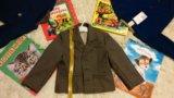 Пиджак коричневый 2-3 года. Фото 3.