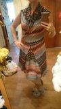 Оригинальное летнее платье. Фото 2.