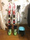 Горные лыжи. Фото 1.