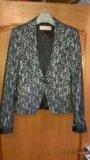 Пиджак из гипюра. Фото 1.