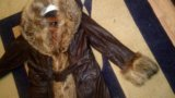 Кожаное пальто. Фото 3.