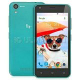 Смартфон fly fs454 nimbus 8 turquoise green. Фото 1.