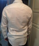 Tommy hilfiger рубашка белая мужская. Фото 3.