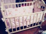 Детская кроватка маятник!. Фото 1.