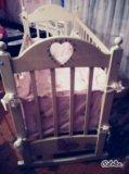 Детская кроватка маятник!. Фото 2.