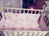 Детская кроватка маятник!. Фото 3.