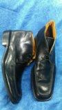Итальянские кожаные ботинки. Фото 1.
