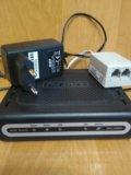 Интернет - маршрутизатор d-link dsl-2500u. Фото 1.