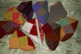 Носки тапочки ручная вязка. Фото 3.