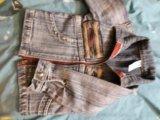 Курточка джинсовая на малыша. Фото 1.
