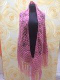 Вязанный платок. Фото 1.