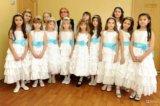 Праздничное платье (сша) 7-8 лет. Фото 4.