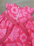 Платье новое 1-2,5 года второе бесплатно. Фото 2.