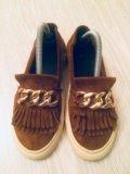 Туфли, макасины, слипоны. размер 36. Фото 1.