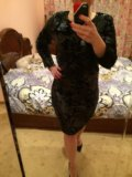 Платье вечернее в пайетках mohito. Фото 4.
