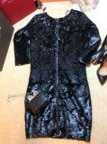 Платье вечернее в пайетках mohito. Фото 2.