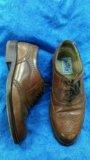 Кожаные мужские туфли. Фото 1.