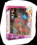 Кукла с собачкой. Фото 3.