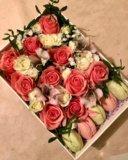 Цветы в коробке. Фото 4.