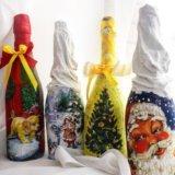 Декор шампанского подарки. Фото 1.