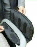 Муфта для коляски на флисе и синтепоне очень тепла. Фото 2.
