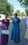 Платье бирюзовое 46-48. Фото 1.